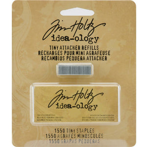 Tim Holtz Idea-Ology Tiny Attacher Staples Refill