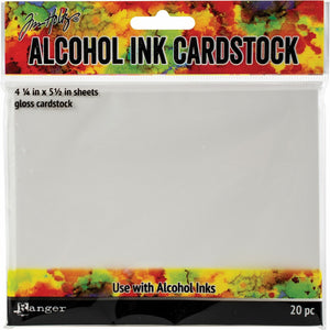 Tim Holtz Alcohol Ink Cardstock