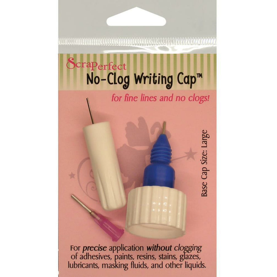 ScraPerfect No-Clog Writing Cap: Large
