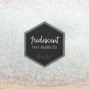 Iridescent Tiny Bubbles