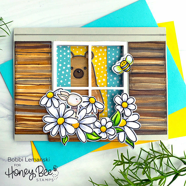 Load image into Gallery viewer, Busy Bees | 4x6 Stamp Set