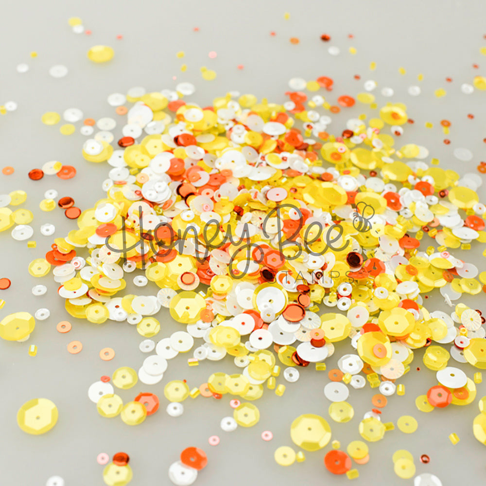 Load image into Gallery viewer, Candy Corn | Sequin Mix