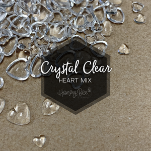 Crystal Clear | Acrylic Hearts Mix