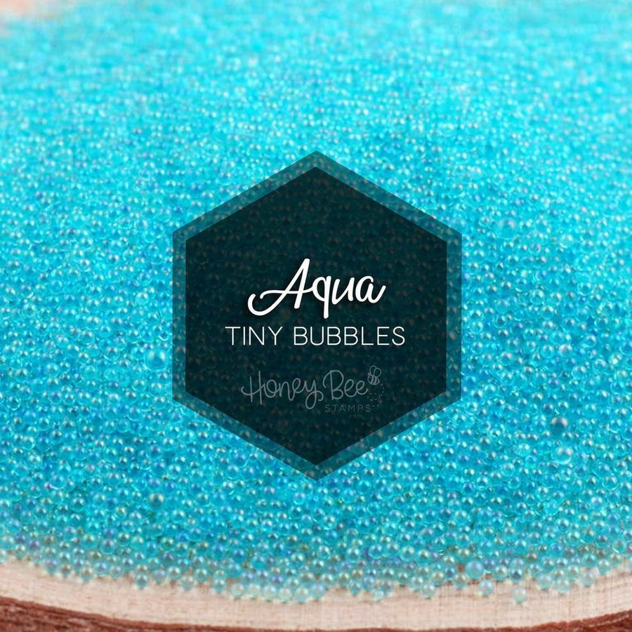 Aqua Tiny Bubbles