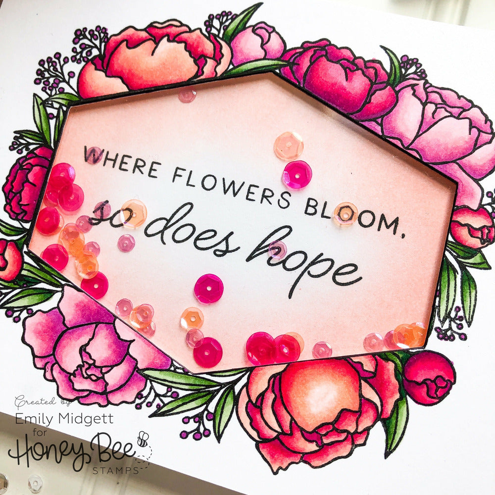 Load image into Gallery viewer, In Full Bloom | 6x8 Stamp Set