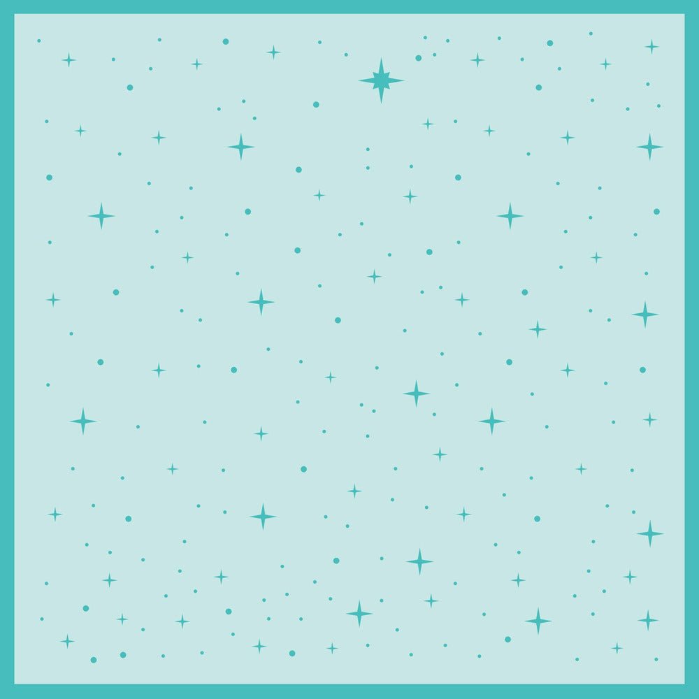 Load image into Gallery viewer, Follow That Star | Background Stencil
