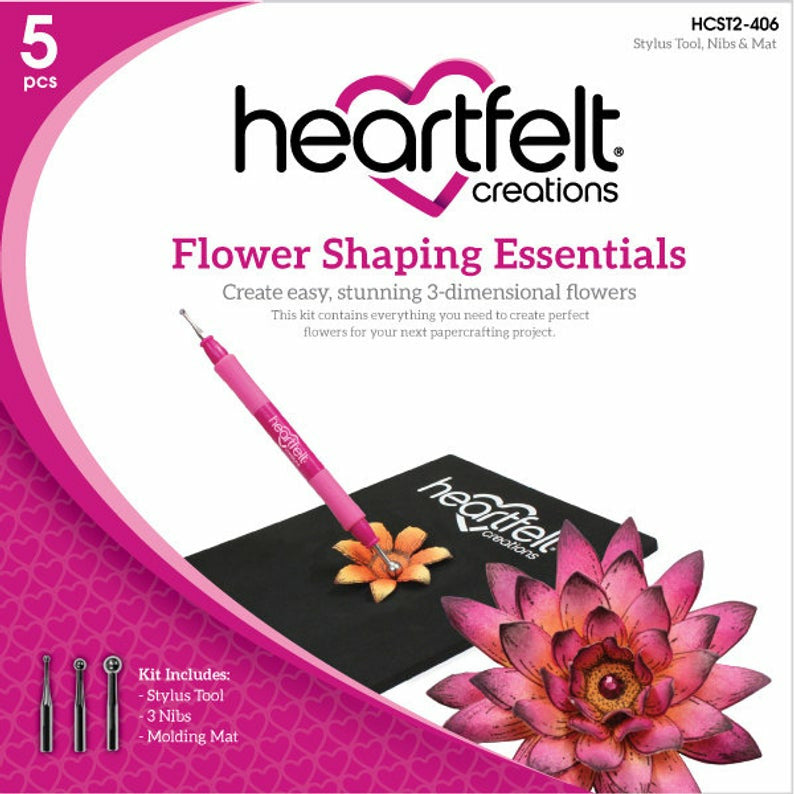 Load image into Gallery viewer, Heartfelt Creations | Flower Shaping Essentials Kit