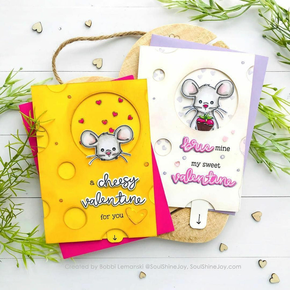 Load image into Gallery viewer, Mae The Mouse | 4x8 Stamp Set