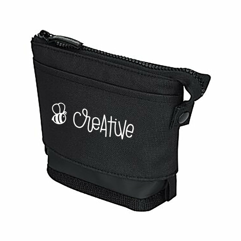 Load image into Gallery viewer, Bee Creative | Black Storage Bag