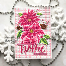 Load image into Gallery viewer, Pretty Poinsettias | 6x8 Stamp Set
