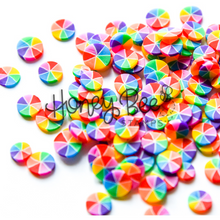 Load image into Gallery viewer, Rainbow Pinwheels | Clay Bits