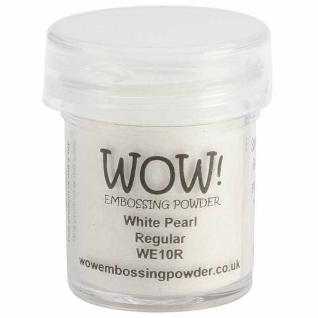 WOW! Embossing Powder, White Pearl