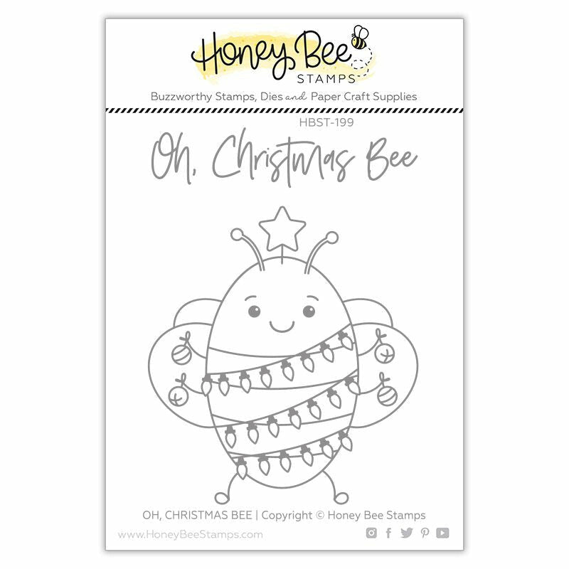 Load image into Gallery viewer, Oh Christmas Bee | 3x4 Stamp Set
