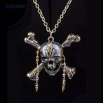 Pirates of the Caribbean Dead Pirate Skull Pendant - Bags of Shizzle