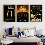 The Godfather Poster classic old movie poster - Bags of Shizzle