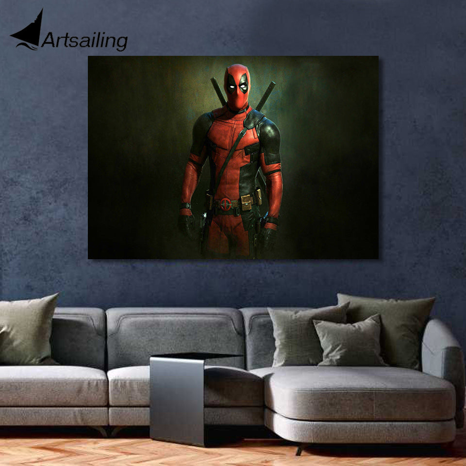 Deadpool HD Movie poster - Bags of Shizzle