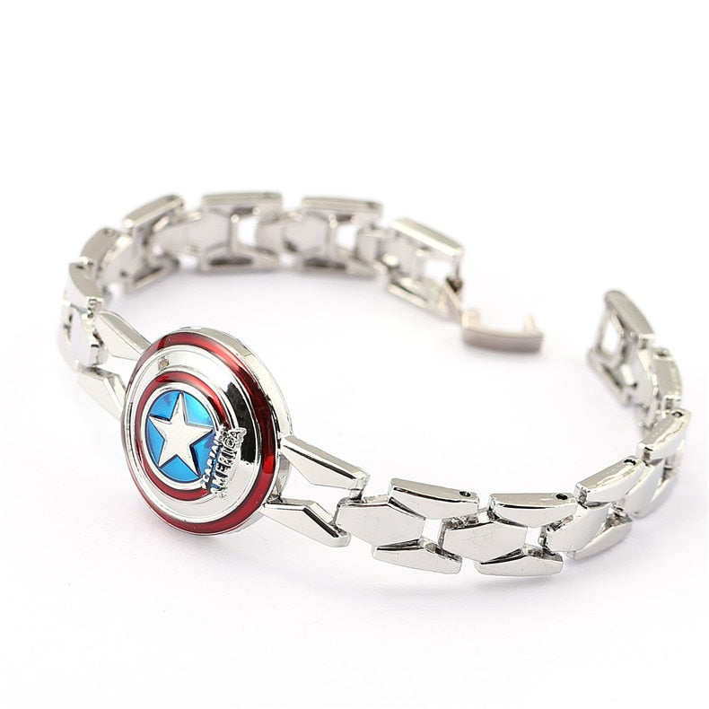 The Avengers Captain America Circular shield Bracelet - Bags of Shizzle