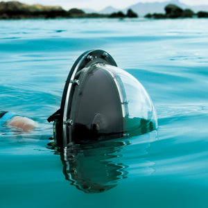 "SOONSUN 6"" Aluminum Alloy 45M Underwater Diving Camera Lens Dome - Bags of Shizzle"