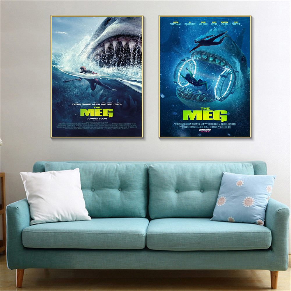 The Meg Movie Poster - Bags of Shizzle