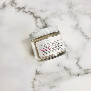 Hibiscus and Rose Clay Facial Mask