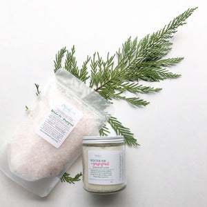Winter Fir & Grapefruit Salt Soak