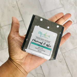 Charcoal + Aloe Face and Body Bar Soap