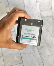 Load image into Gallery viewer, Charcoal + Aloe Face and Body Bar Soap