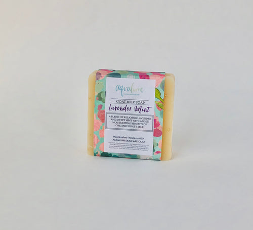 Lavender Mint Goat's Milk Soap Bar