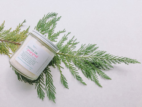 Winter Fir & Grapefruit Sugar Body Scrub