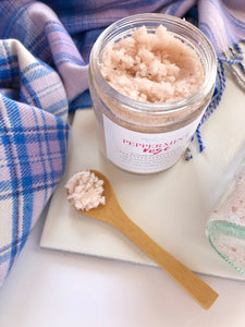 Peppermint Rose Sugar Body Scrub