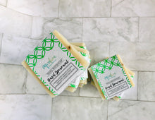 Load image into Gallery viewer, Basil + Spearmint Shea Butter Soap Bar