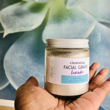 Load image into Gallery viewer, Lavender Facial Cleansing Grains