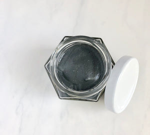 Activated Charcoal + Peppermint Facial Scrub
