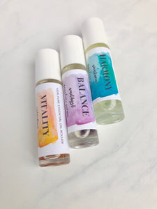 Gemstone Essential Oil Roll On Perfume