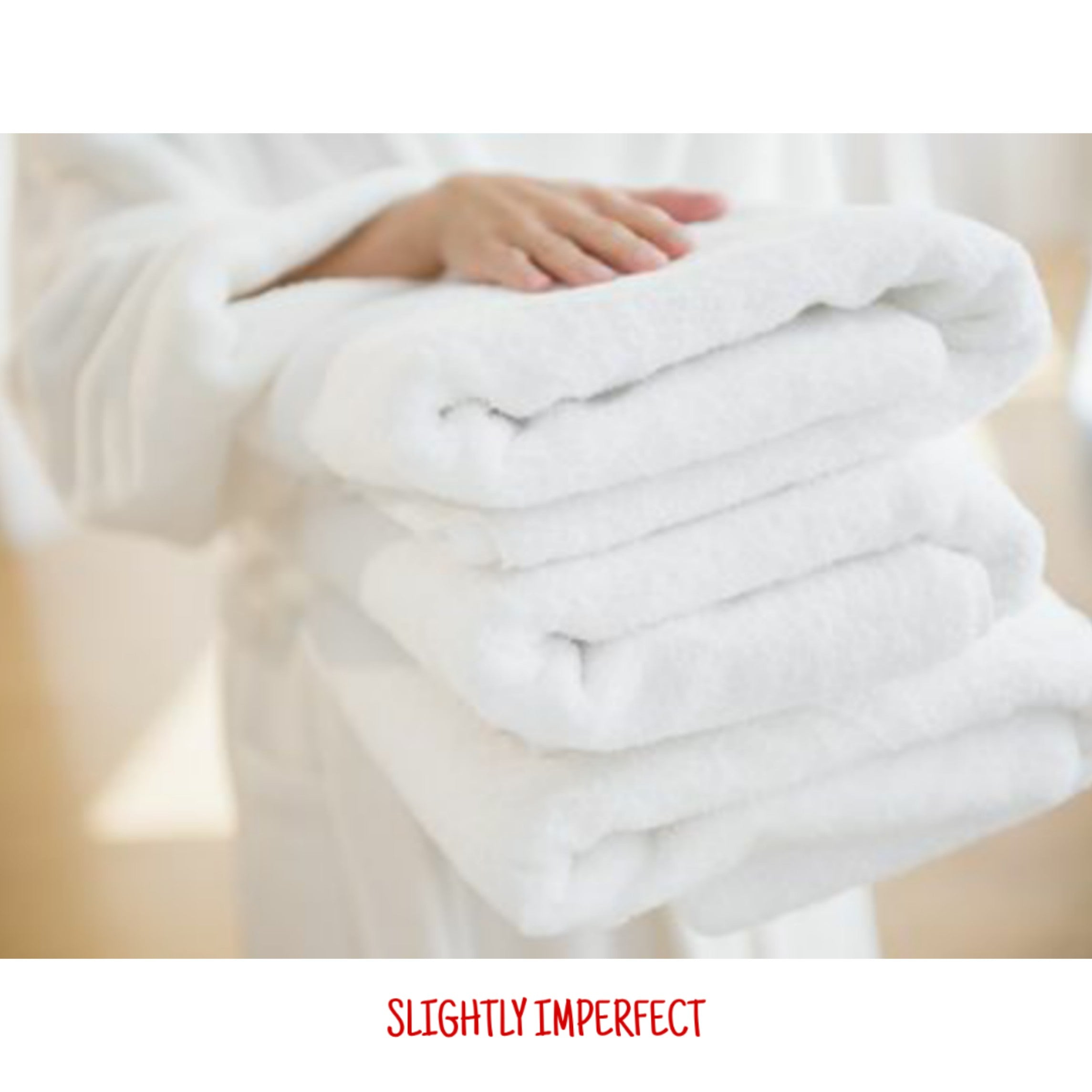 Bundle of 20 Snag Free Imperfect Bath Towels