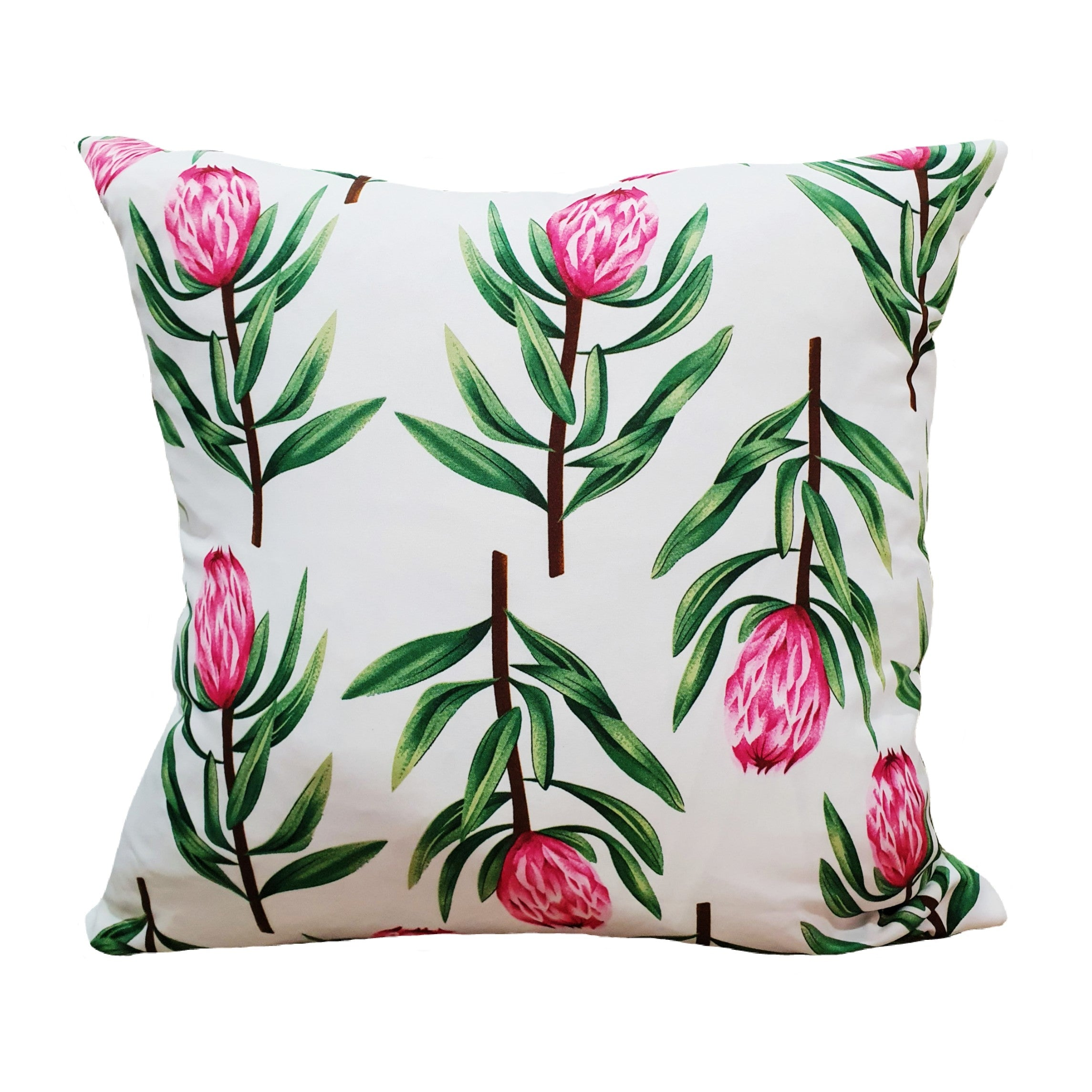 Protea White Scatter Cushion