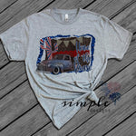 Home of the Brave T-shirt, Freedom T-Shirt, 4th of July Shirt , America Flag Tee