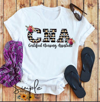 CNA T-shirt, Work Flow Tees, Custom Job Shirts