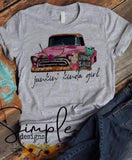 Junkin kinda Girl T-shirt, Antique Trunks