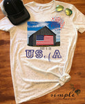 Made in the US of A T-shirt, Freedom Tee, 4th of July Shirt