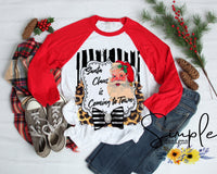 Santa Claus is Coming to Town T-shirt, Christmas Shirts