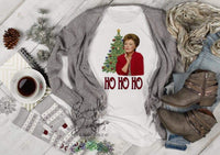 Ho Ho Ho Blanche in Red Golden Girls T-shirt, Long Sleeve Tees, Raglans