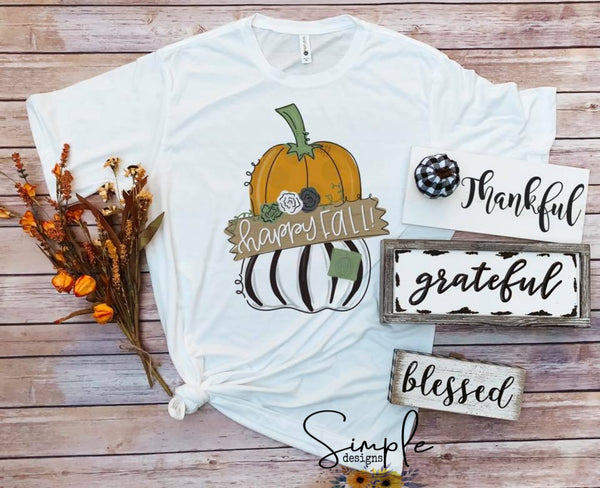 Happy Fall Yall T-shirt, Fall, Thanksgiving Custom Tees