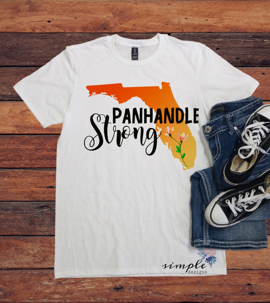 Panhandle Strong Florida Shirts, Donations, Fundraiser