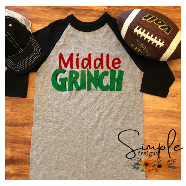 Youth Grinch Shirt, Mama Grinch, Daddy Grinch, Personalized Merry Christmas, National Lampoons