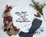 Oh No We Are in This Together Christmas Tree Shirt, Merry Christmas, National Lampoons