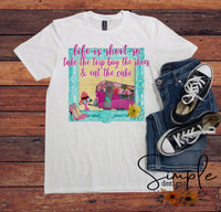 Vintage Camper Life is Short T-shirt, Take a Trip Shirt, Buy the Shoes, Eat the Cake Shirt