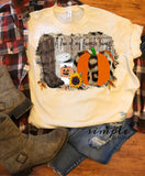 A Few of My Favorite Things Shirt, Fall Raglan, T-shirt, Pumpkin Spice