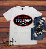 Trump 2020 Oval T-shirt, Custom Tees, Tank Tops