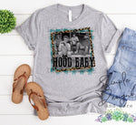 Hood Baby T-shirt, Golden Girls, Humor Graphic Tees, Custom Raglans